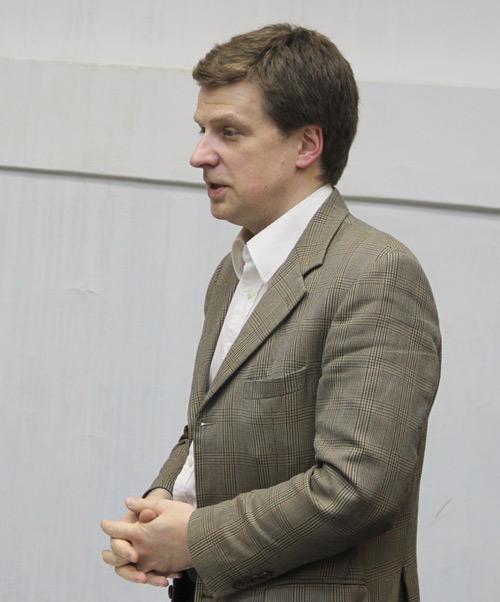 Андрей Александрович Россиус (декабрь 2011 г.)